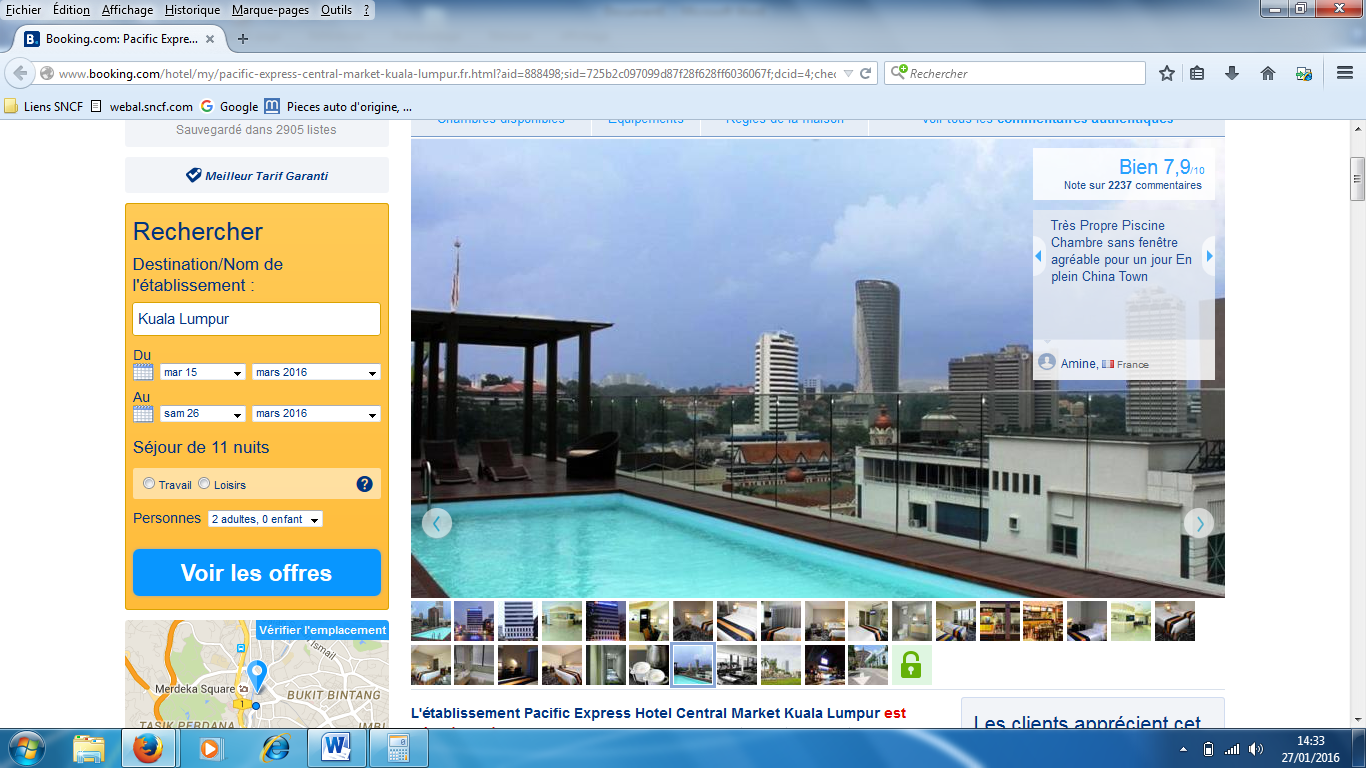 booking kl