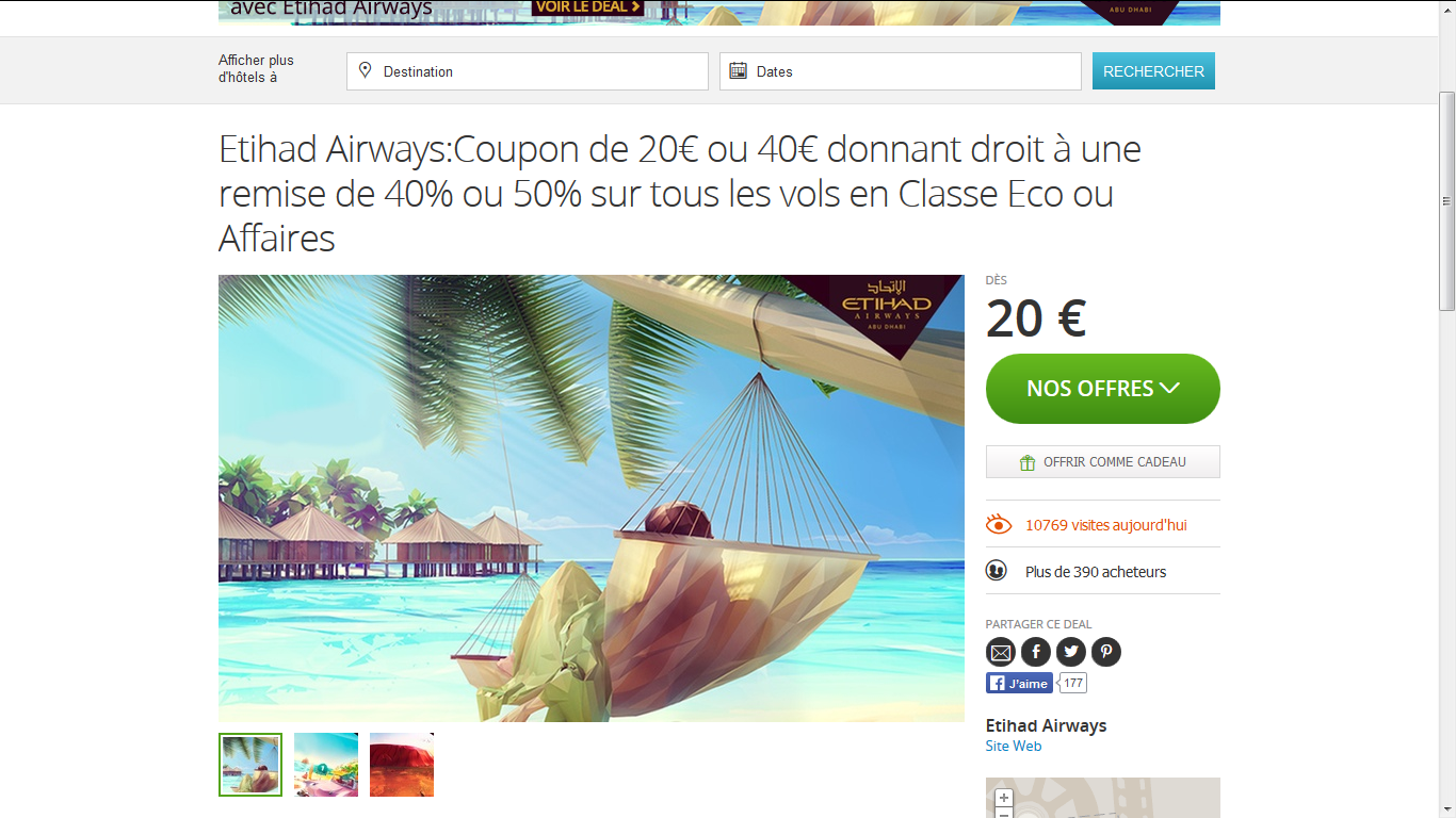 bon plan groupon muslimtrip etihad